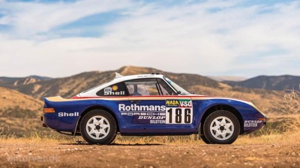 Porsches Dakar-legende kan blive din