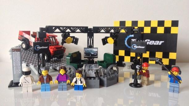 Lego bygger sæt med Top Gear