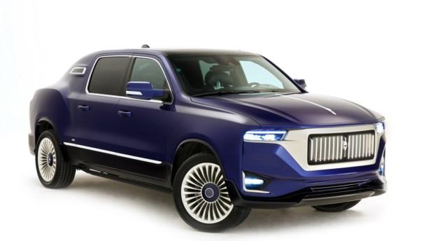 Aznom Palladium – en luksuslimousine baseret på amerikansk pickup