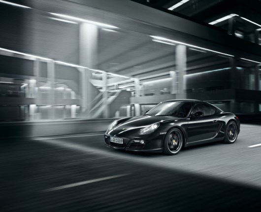 Cayman S Black Edition