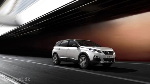 Peugeot klar med ny 5008 SUV