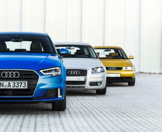 20 år i selskab med Audi A3