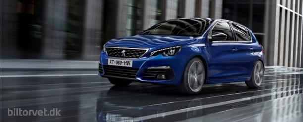 Peugeot afslører ny version af bestselleren 308