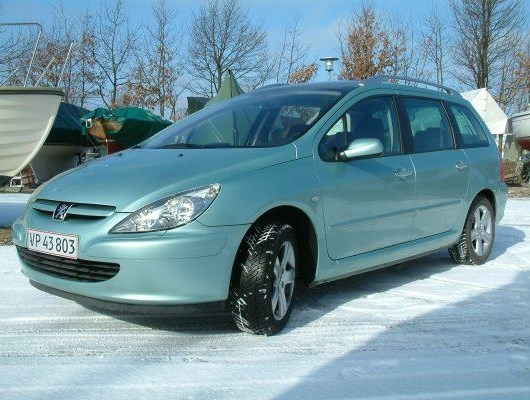 Peugeot 307 2.0 SW 7-pers