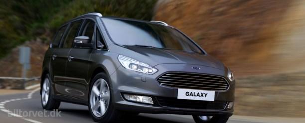 Ny Ford Galaxy på vej