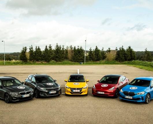 Her finalisterne til Årets Bil 2020