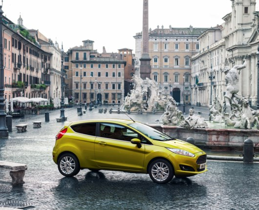 Salgsboom for Ford Fiesta