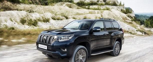 Toyota klar med ny Land Cruiser