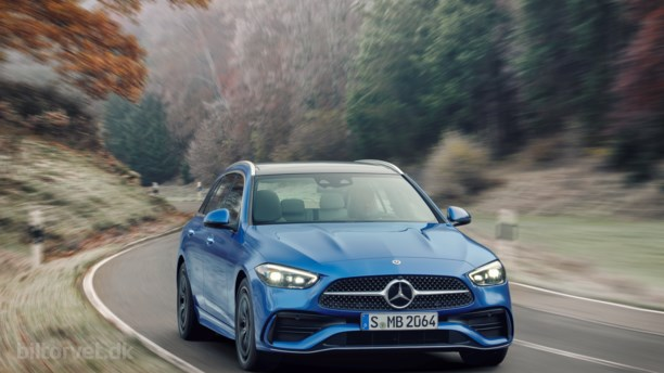 Halv elbil, halv benzinbil – her er den nye Mercedes C-Klasse