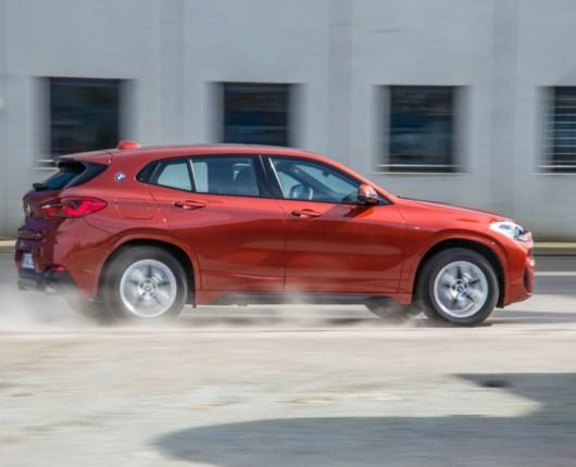 Bilen til den hippe pensionist – BMW X2
