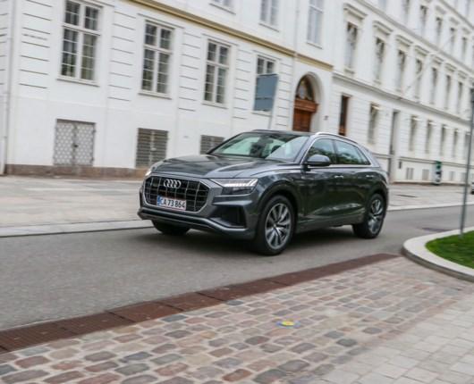 Audi Q8 – GTI på stylter