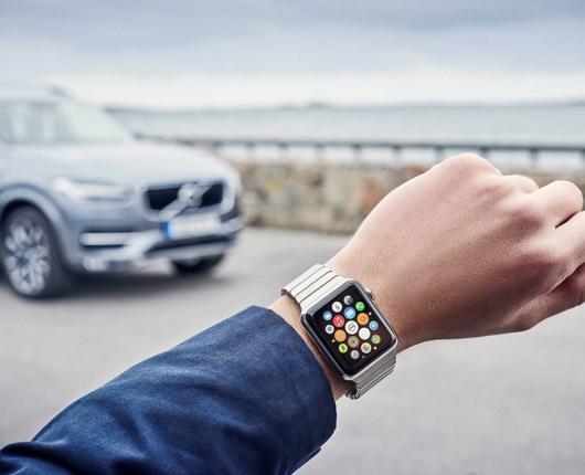 Betjen din Volvo fra dit Apple Watch