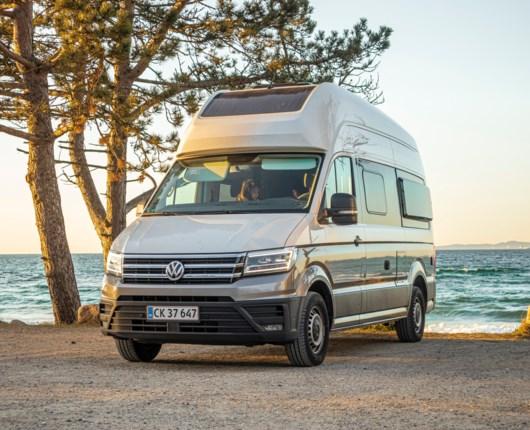 En sommer på hjul  - Volkswagen Grand California