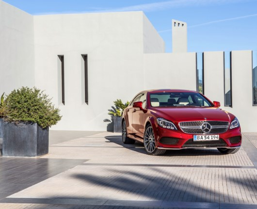 CLS 500 4Matic - Smukt design, fed V8'er, men...