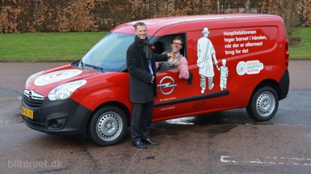 Opel og De Danske Hospitalsklovne samarbejder