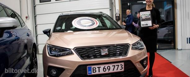Spansk sejr til Årets Bil – Seat Arona vinder