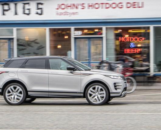 Range Rover Evoque er vokset ud af dametasken