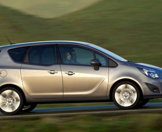 Særpris på Opel Meriva Limited