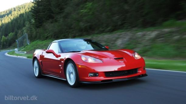 Salgsprisen på Corvette ZR1