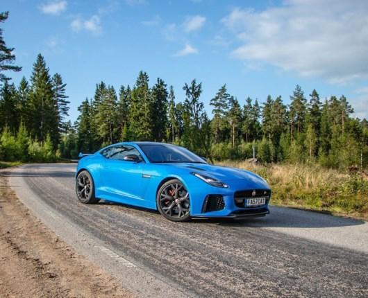 Kald mig bare kylling – Jaguar F-Type SVR