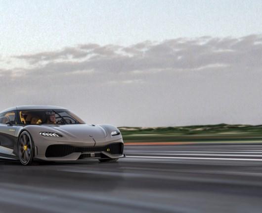Ét gear, tre cylindre og 1.723 heste - her er Koenigseggs nye superbil