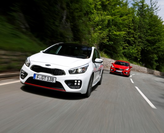 KIA ceed GT light!