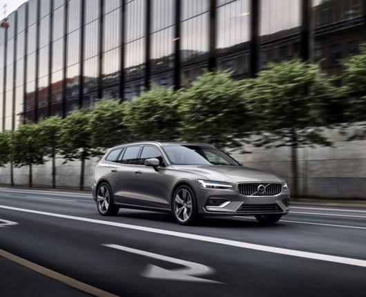 Villa, vovse og den nye Volvo V60