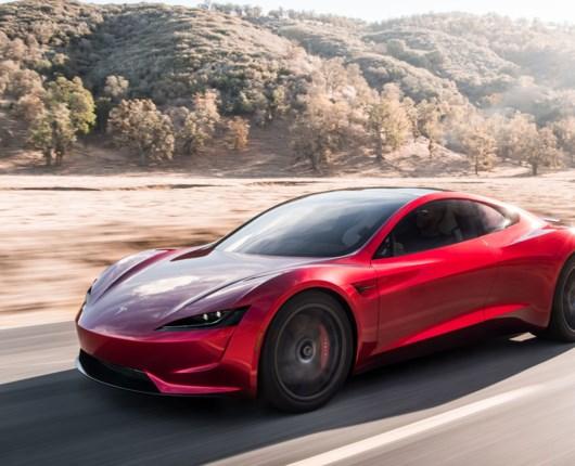 Ny Tesla Roadster er vanvittig hurtig!