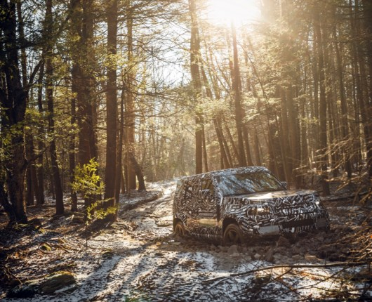 Legenden er tilbage – Land Rover Defender lander i 2020
