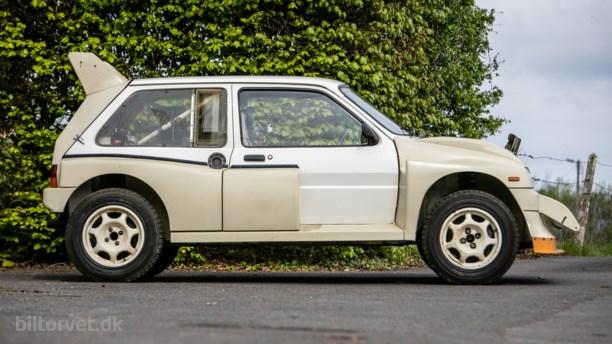 Så vild, at den blev forbudt - rallybil fra 1986 med bare 11 kilometer på tælleren