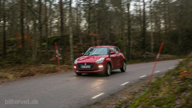Suzuki Swift Boosterjet – den japanske supermini
