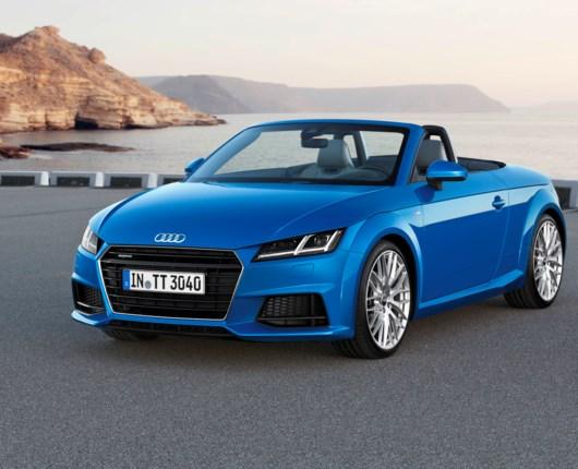 Priser på Audi TT og TTS