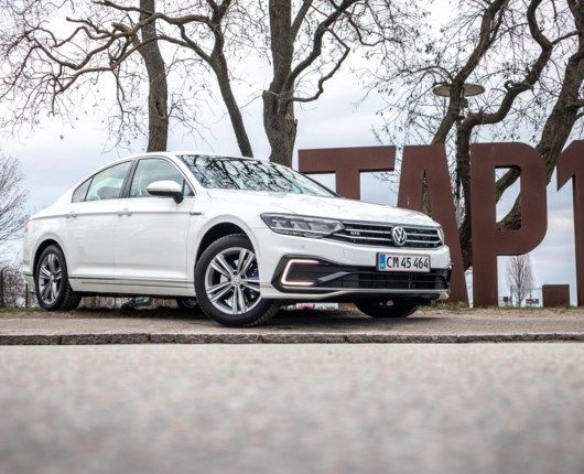 Perfekte Passat er hipstergrøn som GTE plug in-hybrid