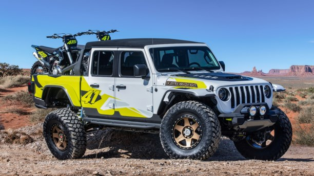 Påskeæg på fire hjul – Jeep bygger vilde koncepter til entusiastiske fans