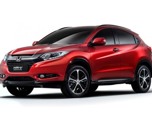 Honda løfter sløret for ny HR-V