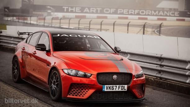 Jaguar XE Project 8 sætter rekord på Nürburgring