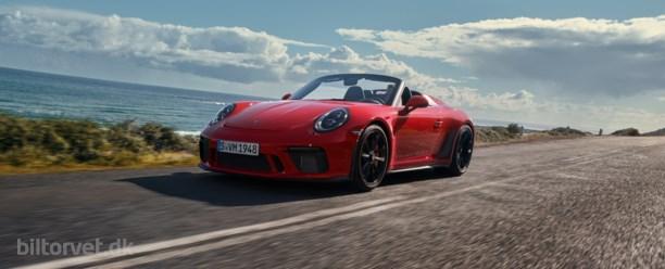 Elegant men knivskarp – Porsche 911 Speedster