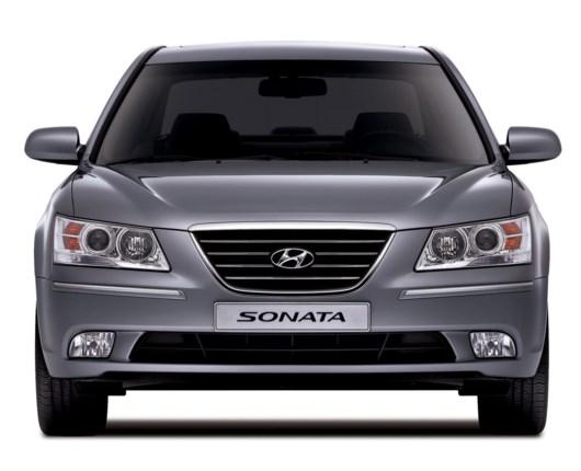 Faceliftet Hyundai Sonata