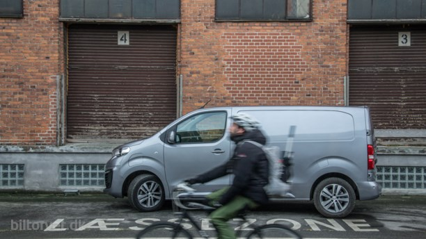 Det elektriske bud – Peugeot e-Expert