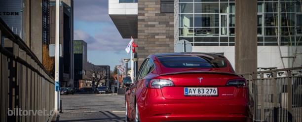 Tesla Model 3-salget banker alt andet i Norge