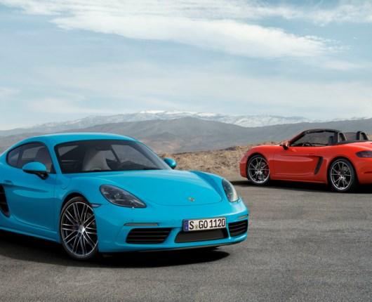 Mere power til Porsche 718 Cayman