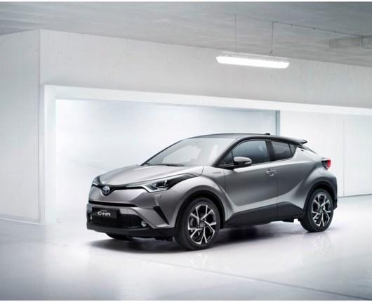 Toyota C-HR er nu klar til salg i Danmark