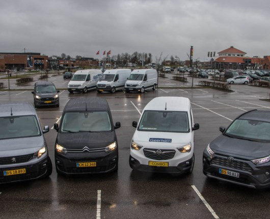 Hvem bliver årets bedste varebil – her er finalisterne