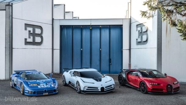 90'er-hyldest med 1.600 heste – her er Bugattis seneste vanvidsmaskine
