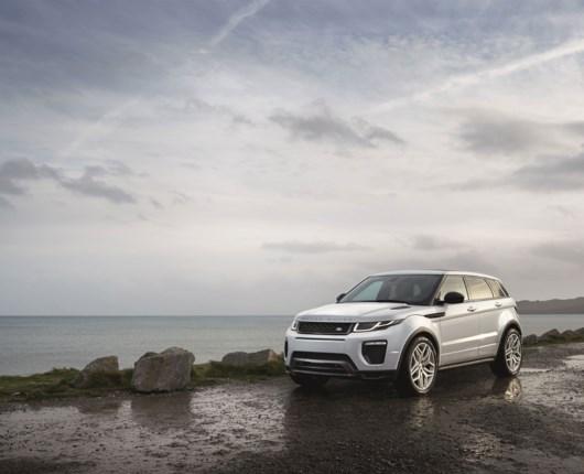 Priser på den nye Range Rover Evoque