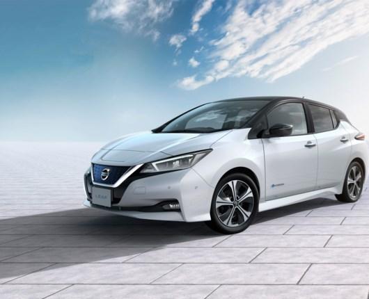 Hæder til den nye Nissan Leaf