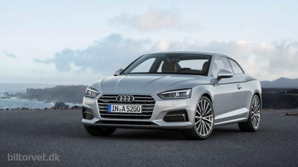 Ny og stilfuld Audi A5 klar til kamp