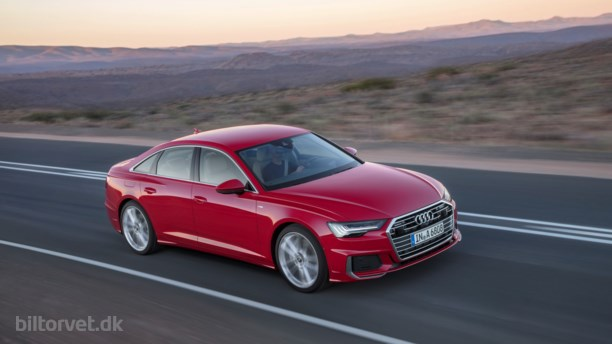 Her er den nye Audi A6 – klogere og mere rummelig