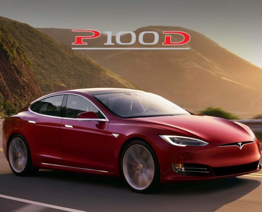 Tesla klar med P100D!