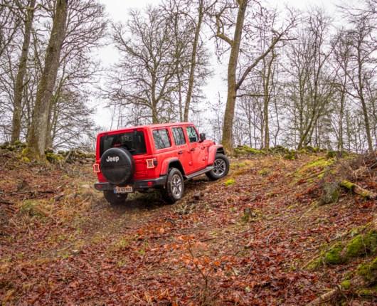 Moderne tider i et amerikansk ikon – Jeep Wrangler Sahara 2,0